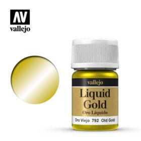 Vallejo Liquid Gold - old gold