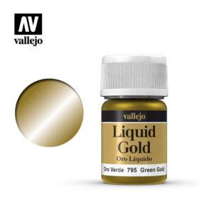 Vallejo Liquid Gold - green gold