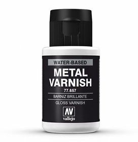 Vallejo gloss metal varnish