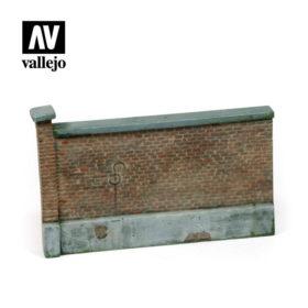 Vallejo Scenics - old brick wall