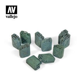 Vallejo Scenics - Allied Jerrycan set 12stk