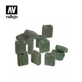 Vallejo Scenics - IDF Jerrycan set 12stk