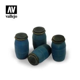Vallejo Scenics - Modern Plastic Drums (#1) 4stk