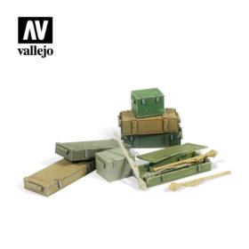 Vallejo Scenics - Panzerfaust 60 M set 11stk