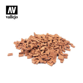Vallejo Scenics - Coloured Bricks, ca 40g
