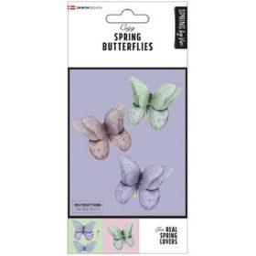 SPRING BUTTERFLIES 6PCS