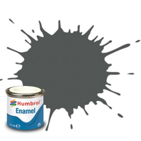 Humbrol enamel 14ml matt slate grey 31