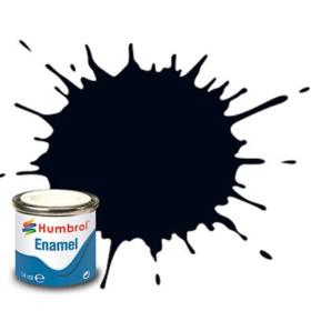 Humbrol enamel 14ml matt black 33
