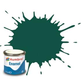 Humbrol enamel 14ml matt us dark green 116