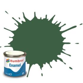 Humbrol enamel 14ml matt us light green 117