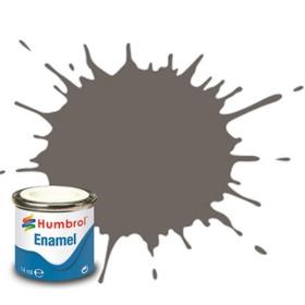 Humbrol enamel 14ml matt dark slate grey 224