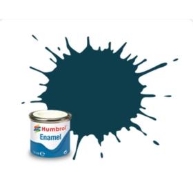 Humbrol enamel 14ml matt pru blue 230