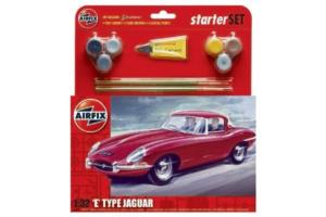 Airfix Jaguar E-type 1:32 set