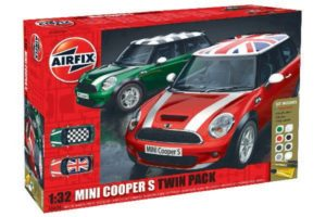 Airfix Mini Cooper S twin pack 1:32