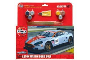Airfix Aston Martin DBR9 GULF 1:32 Set