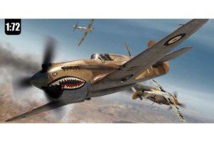 Airfix Curtiss Tomahawk IIB 1:72 set