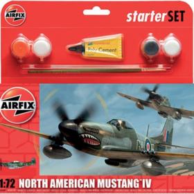 Airfix North American Mustang 1:72 set