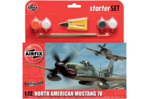 Airfix North American Mustang 1:72 set