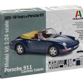 Italeri Porche 911 Carrera Cabriole 1:24