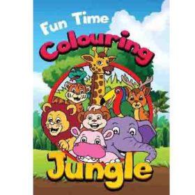 coloring A4 - jungle
