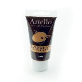 Artello acrylic 75ml gold