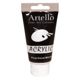 Artello acrylic 75ml pearlized white