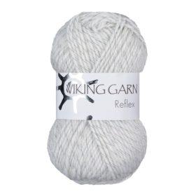 Viking Garn Reflex - 400 hvit