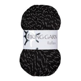 Viking Garn Reflex - 403 svart