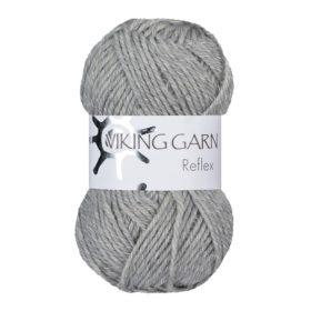 Viking Garn Reflex - 413 lys grå
