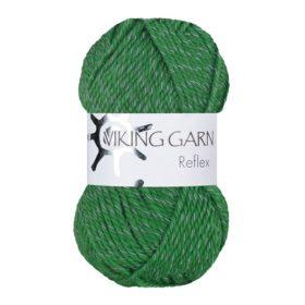 Viking Garn Reflex - 435 mørk grønn