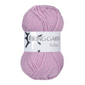 Viking Garn Reflex - 474 lys rosa