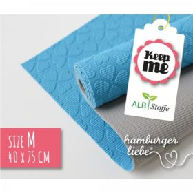 KEEP ME ANTI-SLIDE MAT 40x75cm - blå/grå