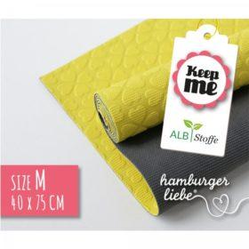 KEEP ME ANTI-SLIDE MAT 40x75cm - gul/grå