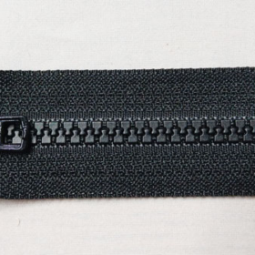YKK glidelås 6mm vislon, delbar 65cm - sort