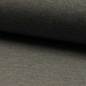 Jersey French Terry brushed 160cm - dark grey