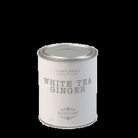 Duftlys - white tea ginger