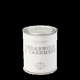 Duftlys - cedarwood & cashmere