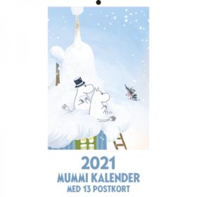 2021 Mummi Postkortkalender