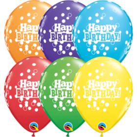 Ballonger Happy Birthday Confetti Dots