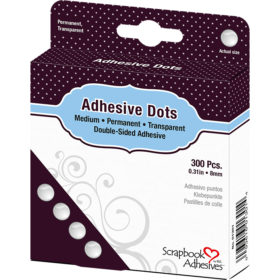 3L Adhesive Dots – Medium – 8mm 300stk