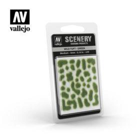Vallejo Scenery - Wild Tuft – Green
