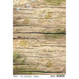 Ciao Bella Rice Paper A4 - country wood